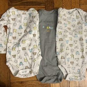 Set of three new Carters bodysuits 24 months